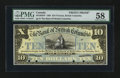 Canadian Currency: , Victoria, BC- The Bank of British Columbia $10 Jan. 1, 1894 Ch. # 50-16-04FP Face Proof. ...