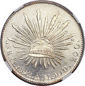 Mexico, Mexico: Republic 8 Reales 1892Mo-AM,...