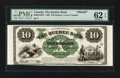 Canadian Currency: , Quebec, LC- The Quebec Bank $10 circa 1863 Ch. # 620-34-10FP FaceProof . ...