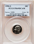 Proof Roosevelt Dimes: , 1990-S 10C PR69 Deep Cameo PCGS. PCGS Population (3037/231). NGCCensus: (366/139). Numismedia Wsl. Price for problem free...