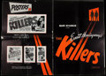 """Movie Posters:Film Noir, The Killers (Universal, 1946). Uncut Pressbook (Multiple Pages, 14.5"""" X 21"""") and Press Booklet (20 Pages, 10.25' X 13.5""""). F... (Total: 2 Items)"""