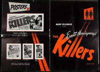 """The Killers (Universal, 1946). Uncut Pressbook (Multiple Pages, 14.5"""" X 21"""") and Press Booklet (20 Pages, 10.2..."""