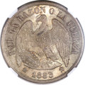 Chile, Chile: Republic Peso 1883 Round Top 3,...