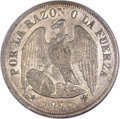 Chile, Chile: Republic Peso 1887,...