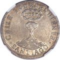 Chile, Chile: Republic 2 Reales 1834-IJ,...