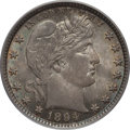 Barber Quarters: , 1894 25C MS64 PCGS. CAC. PCGS Population (42/29). NGC Census:(42/26). Mintage: 3,432,972. Numismedia Wsl. Price for proble...