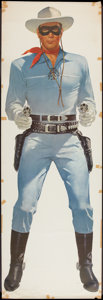 """Movie Posters:Western, The Lone Ranger Wheaties Poster - Lone Ranger Style (General Mills, 1957). Poster (25"""" X 75""""). Western.. ..."""