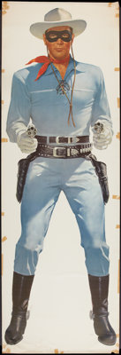 """The Lone Ranger Wheaties Poster - Lone Ranger Style (General Mills, 1957). Poster (25"""" X 75""""). Western"""
