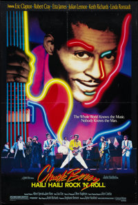 "Chuck Berry: Hail! Hail! Rock 'n' Roll (Universal, 1987). One Sheet (26.5"" X 41""). Rock and Roll"