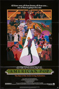 "Movie Posters:Animated, American Pop and Other Lot (Columbia, 1981). One Sheets (2) (27"" X 41""). Animated.. ... (Total: 2 Items)"