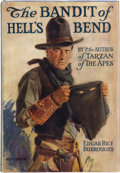 Books:Science Fiction & Fantasy, Edgar Rice Burroughs. The Bandit of Hell's Bend. Chicago: A.C. McClurg & Co., 1925. First edition. Octavo. 316 ...