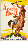 Books:Science Fiction & Fantasy, Edgar Rice Burroughs. Apache Devil. Tarzana: Edgar RiceBurroughs, Inc., 1933. First edition. From the library...