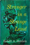 "Books:Science Fiction & Fantasy, Robert A. Heinlein. Stranger in a Strange Land. New York: G.P. Putnam's Sons, 1961. First edition. Code ""C22"" at th..."