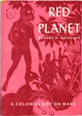 Books:Science Fiction & Fantasy, Robert A. Heinlein. Red Planet. New York: Charles Scribner'sSons, 1949. Later edition. Signed by Heinlein on th...