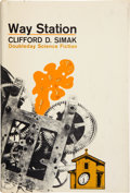 Books:First Editions, Clifford D. Simak. Way Station. Garden City: Doubleday,1963. First edition. Octavo. 210 pages. Publisher's tan ...
