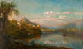 Fine Art - Painting, American:Antique  (Pre 1900), EDMUND DARCH LEWIS (American, 1835-1910). A View of Cuba,1874. Oil on canvas . 22-1/4 x 36 inches (56.5 x 91.4 cm). Sig...