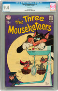 Bronze Age (1970-1979):Humor, The Three Mouseketeers #4 Savannah pedigree (DC, 1970) CGC NM 9.4White pages....