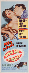 Memorabilia:Poster, Kiss Me Deadly Movie Poster (United Artist, 1955)....