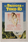 Memorabilia:Poster, The Bridges at Toki-Ri Movie Poster (Paramount, 1954)....