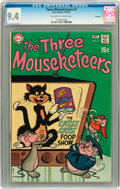 Bronze Age (1970-1979):Cartoon Character, The Three Mouseketeers #3 Savannah pedigree (DC, 1970) CGC NM 9.4Off-white to white pages....