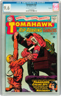 Silver Age (1956-1969):Western, Tomahawk #101 Savannah pedigree (DC, 1965) CGC NM+ 9.6 Off-white to white pages....