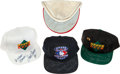 Baseball Collectibles:Hats, Baseball Legends Signed Caps Lot of 4....