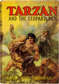 Books:Science Fiction & Fantasy, Edgar Rice Burroughs. Tarzan and the Leopard Men. Tarzana,California: Edgar Rice Burroughs, Inc., [1935]. First...