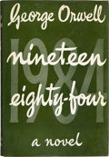Books:Science Fiction & Fantasy, George Orwell. Nineteen Eighty-Four [1984]. London:Secker and Warburg, 1949. First edition. Twelvem...