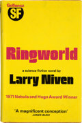 Books:Science Fiction & Fantasy, Larry Niven. Ringworld. London: Victor Gollancz, 1972. First hardcover edition. Warmly inscribed and signed by...