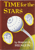 Books:Science Fiction & Fantasy, Robert A. Heinlein. Time for the Stars. New York: CharlesScribner's Sons, [1956]. First edition, with code A-8....