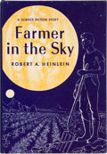 Books:Science Fiction & Fantasy, Robert A. Heinlein. Farmer in the Sky. New York: CharlesScribner's Sons, 1950. First edition with Scriber A on ...