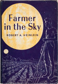 Books:Science Fiction & Fantasy, Robert A. Heinlein. Farmer in the Sky. New York: CharlesScribner's Sons, 1950. Later edition. Signed by the a...
