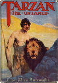 Books:Science Fiction & Fantasy, Edgar Rice Burroughs. Tarzan the Untamed. Chicago: A. C.McClurg, 1920. First edition. Octavo. 428 pages. With n...