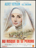 """Movie Posters:Drama, The Nun's Story (Warner Brothers, 1959). French Grande (47"""" X 63""""). Drama.. ..."""