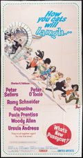 """Movie Posters:Comedy, What's New, Pussycat? (United Artists, 1965). Three Sheet (41"""" X81""""). Comedy.. ..."""