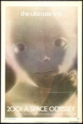 "Movie Posters:Science Fiction, 2001: A Space Odyssey (MGM, R-1974). One Sheet (27"" X 41""). ScienceFiction.. ..."