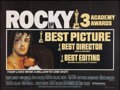 "Movie Posters:Academy Award Winners, Rocky (United Artists, 1977). British Quad (30"" X 40""). AcademyAward Winners.. ..."