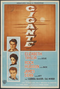 "Movie Posters:Drama, Giant (Warner Brothers, 1956). Argentinean Poster (29"" X 43""). Drama.. ..."