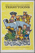 "Movie Posters:Animated, Terry-Toons (20th Century Fox, 1960). Stock One Sheet (27"" X 41"").Animated.. ..."