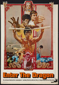"""Movie Posters:Action, Enter the Dragon (Warner Brothers, 1973). Table Top Standee (11"""" X16""""). Action.. ..."""