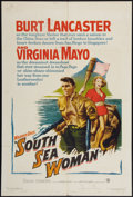 "Movie Posters:Adventure, South Sea Woman and Other Lot (Warner Brothers, 1953). One Sheets(2) (27"" X 41""). Adventure.. ... (Total: 2 Items)"