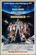 "Movie Posters:James Bond, Moonraker (United Artists, 1979). One Sheet (27"" X 41"") Advance.James Bond.. ..."