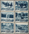 "Movie Posters:Adventure, Custer's Last Stand (Stage and Screen Productions, 1936). LobbyCards (6) (11"" X 14"") Episode 14 -- ""Custer's Last Ride."" Ad...(Total: 6 Items)"