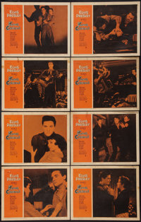 """King Creole (Paramount, 1958). Lobby Card Set of 8 (11"""" X 14""""). Elvis Presley. ... (Total: 8 Items)"""