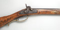 Military & Patriotic, Unmarked Kentucky Percussion Rifle....