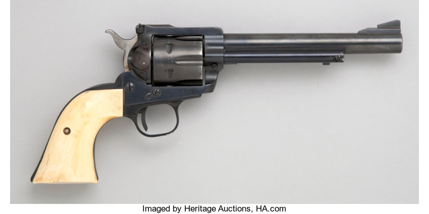 Ruger Blackhawk Single Action Revolver with Holster