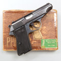 Military & Patriotic, *Walther Model PP Semi-Automatic Pistol together with Extra Magazine, Cleaning Tools and Associated Box....