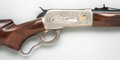 Military & Patriotic, **Boxed and Engraved Limited Edition Browning Model 71 Lever Action Carbine....