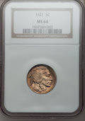 Buffalo Nickels: , 1921 5C MS64 NGC. NGC Census: (203/197). PCGS Population (312/415).Mintage: 10,663,000. Numismedia Wsl. Price for problem ...