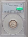 Barber Dimes: , 1898-O 10C AU58 PCGS. CAC. PCGS Population (5/53). NGC Census:(4/45). Mintage: 2,130,000. Numismedia Wsl. Price for proble...